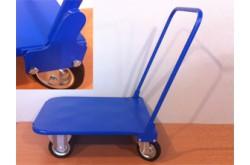 Тележка грузовая с усиленными колёсами. Нажмите для подробной информации