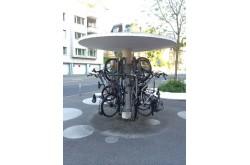 """Стоянка для велосипедов """"грибок"""". Нажмите для подробной информации"""