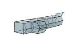 КН Блок контейнеров для сыпучих товаров с выдвижными лотками. Нажмите для подробной информации