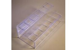 ПК 03 Подставка под помаду двухъярусная с квадратными отверстиями. Нажмите для подробной информации