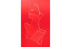 ЮС 09 Подставка для цепочек в виде усеченного профиля девушки. Нажмите для подробной информации
