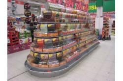 Витрина островная под сладости для гипермаркетов. Нажмите для подробной информации