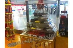 Витрина мармеладница островная для магазинов самообслуживания. Нажмите для подробной информации